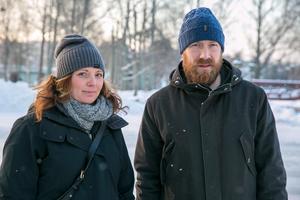 Emilie Lindberg och Magnus Hedgården tycker att kvalitetsargumentet faller platt eftersom studieresultaten är höga på både Tällbergs och Ullvi skola.