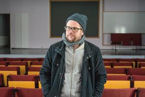 Just en mindre lokal med bra förutsättningar för talteater har jag saknat i Östersund, säger Martin Johansson, regissör.
