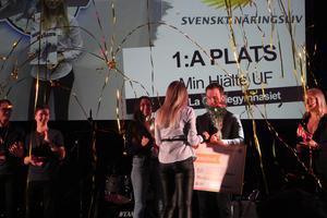 Årets UF-mässa är till ända. Segrade i huvudklassen gjorde Min Hjälte UF från De La Gardieskolan i Lidköping, som vann även kategorierna Årets vara och Årets samhällsentreprenör.