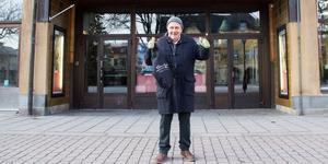 Ordförande Eric Fylkeson trodde aldrig att de skulle bli drygt 200 medlemmar i Sala filmstudio.