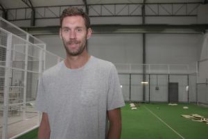 Nya satsningen, Avesta Padel Center. Den tar vid när Andreas Isaksson  lämnar elitfotbollen efter en lång karriär, berättar han. Ett år återstår för Djurgården.