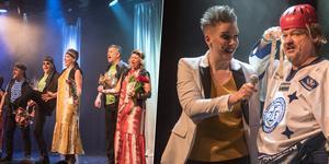 """Klassiska Björborevyn i form av välsmorda """"Kullagret"""" rullar efter helgens premiär vidare med ytterligare tolv föreställningar."""