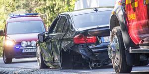 Den här trafikolyckan inträffade vid Otikorset den 8 juni 2019.
