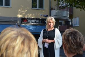 Lena Lagestam var en av arrangörerna till Borlänge fotomaraton. Hon var överraskad över att så många ville delta.