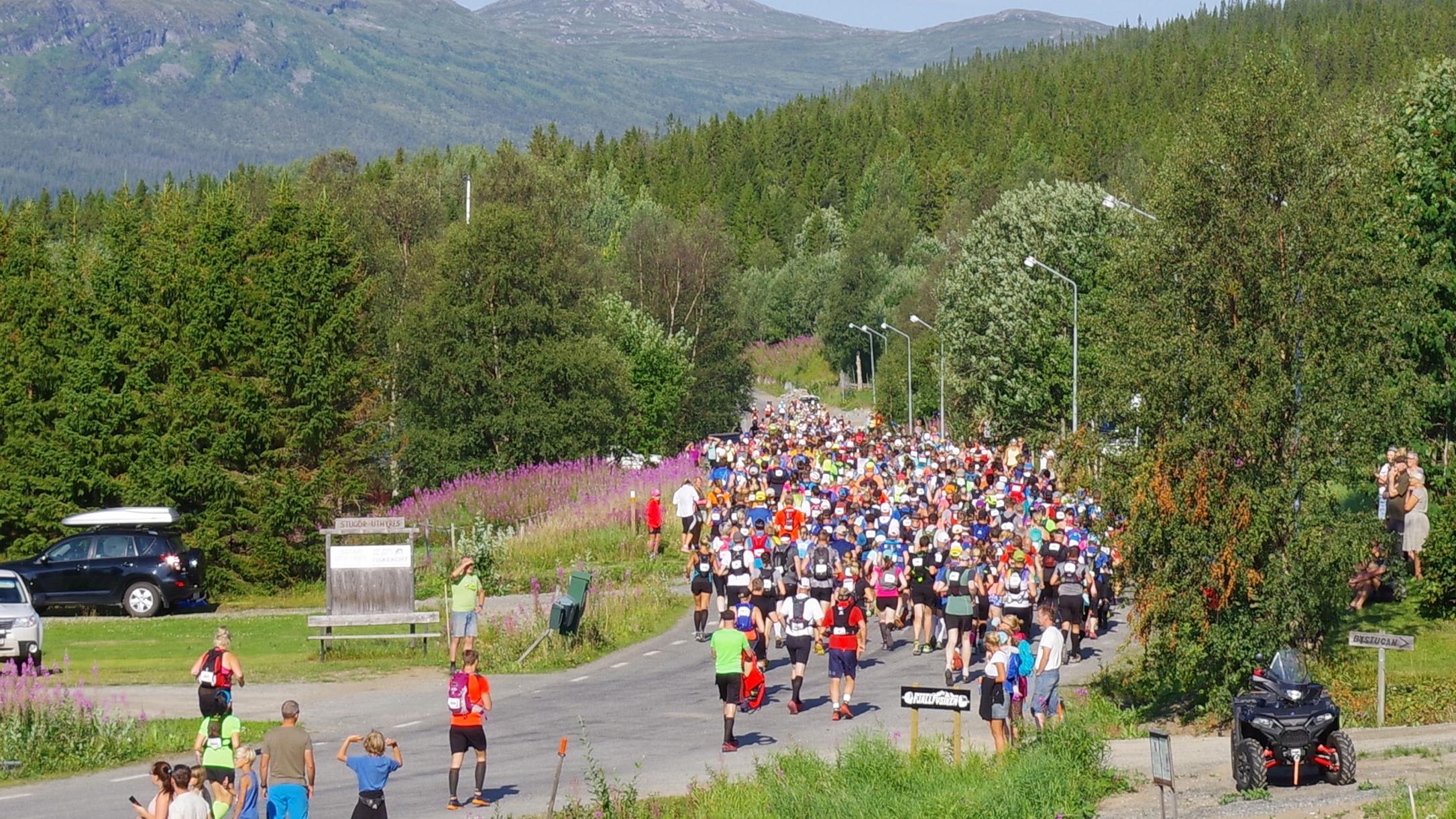 Bra start på Fjällmaratonveckan – deltagarrekord i helgens lopp