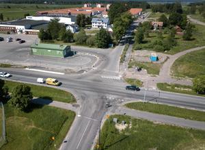 Det har skett många olyckor i korsningen Stortorpsvägen-Hjälmarvägen i Norra Ormesta