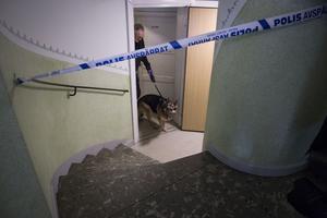 En polisinsats pågår i centrala Avesta och misstanke om ett grovt brott finns.