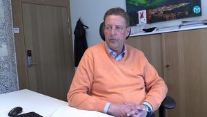 Vice ordförande Hans Carlsson, nu tillförordnad ordförande för ÖFK.