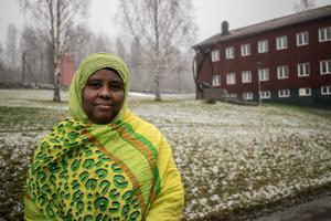 Nada Suleiman har sett Brunnsvik som något av ett hem. Nu har hon läst klart och hoppas hitta ett jobb som elevassistent.