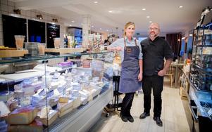 Trångbodda – i slutet av september räknar ägarna till Turinge ost & vin, Jonas och Therese Kristiansson, med att flytta in i större och nyrenoverade lokaler.