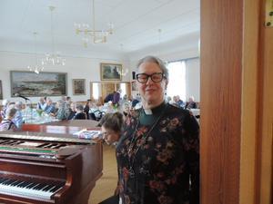 Prästen Ann Åkerlund deltog i festen.