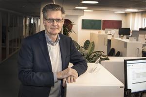 Peter Graf är orolig för bolagets framtid.