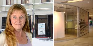 Butikspesten härjar i Sundsvall och andra städer. ST:s kulturredaktör Susanne Holmlund (bilden) och kollegan Kristian Ekenberg tar er med på en runda med en ny bok om den fysiska butikens framtid – och funderingar kring vad som krävs för en levande stadskärna.