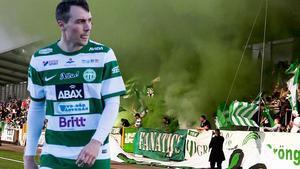 Filip Tronêt var på spelhumör när han stänkte in två mål i VSK:s segermatch mot Carlstad United.