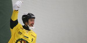 Sebastian Brandt blev tvåmålsskytt mot Unik.