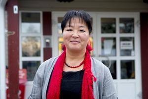 Yoomi Renström tror och hoppas på ett bra valresultat för sitt Socialdemokraterna.