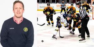 Regeln för tekningar har uppdaterats, berättar Joel Hansson, domaransvarig på Svenska ishockeyförbundet. Foto: Bildbyrån