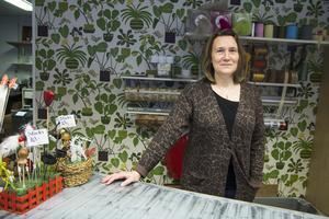 Agneta Wallin lägger ner sin butik, Gnarps blommor.