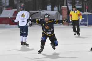 David Forsell var en av sju målskyttar för Falu BS mot Nässjö.