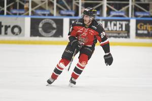 Conny Strömberg spelade fram till HHC:s tre första mål i matchen mot Tranås.