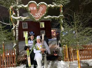 Ett lopp efter loppet:  efter Vasa-lopp kommer brölllopp! Foto: Privat