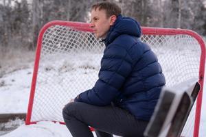 Reineck har ett litet sug av att komma in i hockeyn nu igen på något vis, även om tiden inte räcker till för tillfället.