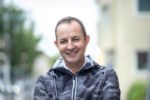 Fredrik Falk, 49 år, skattehandläggare, Sundsvall: