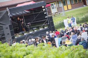 Drygt 1100 människor besökte konserten.