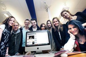 Här är några av Borgarskolans elever som nu är nominerade till Lilla journalistpriset.
