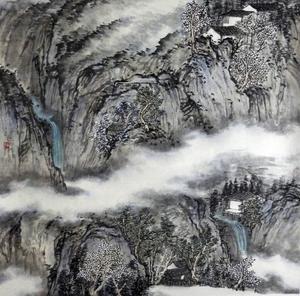 Landskap av Han Ting Ting.