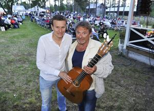 Johan Eriksson, Mikael Rickfors