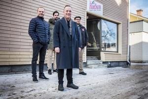 Från vänster, Erik Andersson, Niklas Ohlson, Torgny