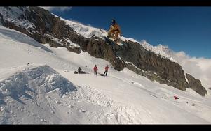 Tim Westerlund från Bjästa Alpina Klubb åkte bra i Norge. Klubbkamraten Simon Matila var också långt framme i resultatlistorna. Foto: PRIVAT