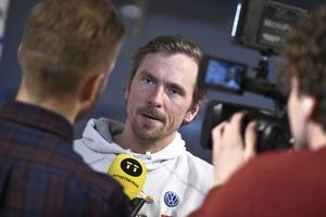 Johan Olsson kunde ha slutat för längesedan, berättar han i samband med en föreläsning i Jönköping.