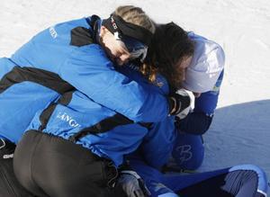 Det går inte att ta miste på glädjen i Västerbotten efter stafettsegern.