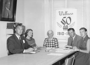 Wallners helsingelinne-industri var ett modernt familjeföretag som gjorde stora satsningar.