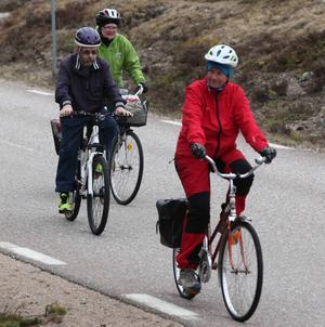 Många glada motionärer valde att ta de kortare slingorna på 11 eller 34 kilometer.
