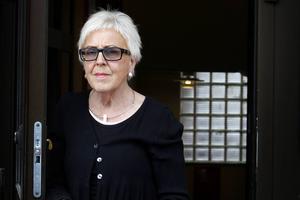 Ulla-Britt Lagergren var en av arrangörerna till mötet om flyktingar.