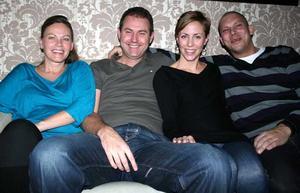 Tabazco. Karin, Fredrik, Pia och Pelle