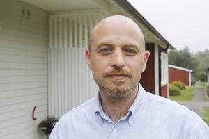 Isak Alsabban, en av deltagarna på utbildningen i Gävle.