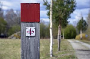 S:t Olavsleden - numera upprustad, väl markerad och flitigt vandrad i både Medelpad och Jämtland.
