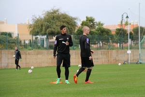 Anthony Gordinho och Daniel Gustavsson.