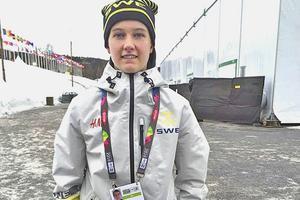 Fanny Brolin i Lillehammer, Norge.