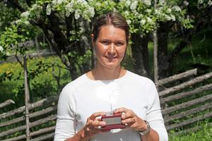 Britta Johansson Norgren fick priset som Östersunds vintersportprofil.