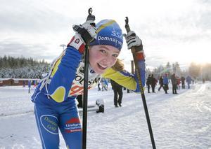 Elsa Brandt kämpade till sig en förstaplats i D11-12.