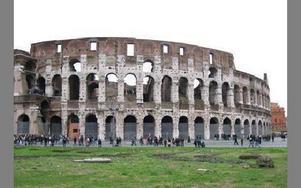 Colosseum imponerade.FOTO: ELINA OLDHAMMER