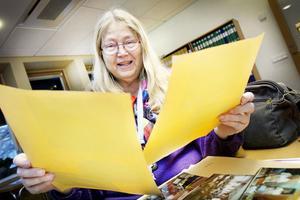 Vill dokumentera. Läraren Katarina Sundgren Tornéus var en av dem som dokumenterade och räddade dokumentationen av en dag på Nynässksolan 1993.