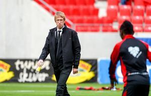 Östersunds huvudtränare Graham Potter.