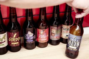 Revsunds Brewery har för tillfället 12 olika öl i sortimentet.