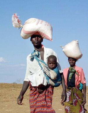 Hur utveckla bäst? Kommer ett nytt mål om ekonomisk tillväxt att innebära några praktiska förändringar av verkligheten i Afrika?foto: scanpix